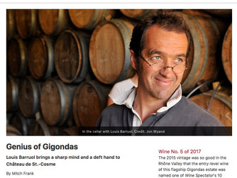 Forge Cellars and St Cosme in the Top 100!
