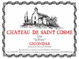 Jeb Dunnuck rates Saint Cosme Gigondas 2016 & 2017