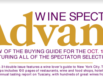 Forge Cellars Riesling rated 92 in The Wine Spectator