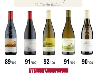 Great scores for Montfaucon in The Wine Spectator