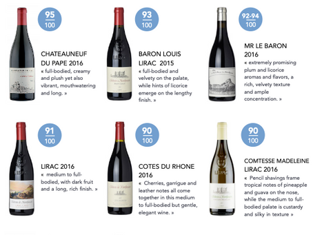 Montfaucon dans le Wine Advocate