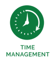 Time Management Icon - Secondary Green w