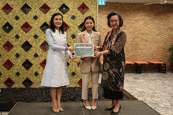 Business English Student Selected 'Ambassador of the Day' for International Women's Day 2021