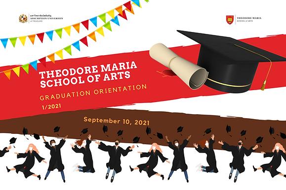 Arts Graduation Orientation 1/2021