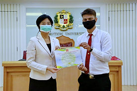 Arts students won top prizes in the 12th World Peace Ethics Contest  Copy Copy