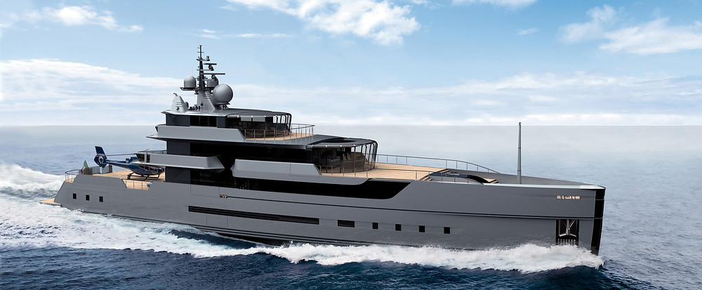 Nicolò Piredda   Yacht Designer   M/Y Galàna