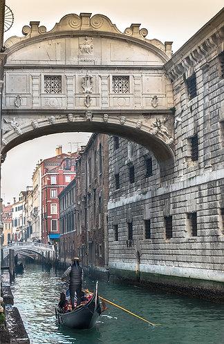 Los suspiros siempre nos llevan Venecia.