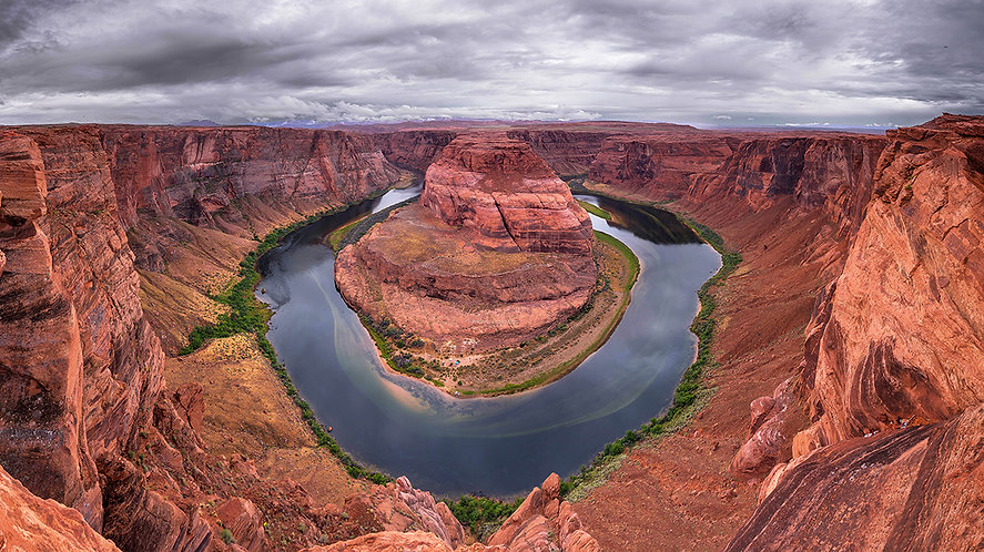 Horseshoe bend,  (USA)