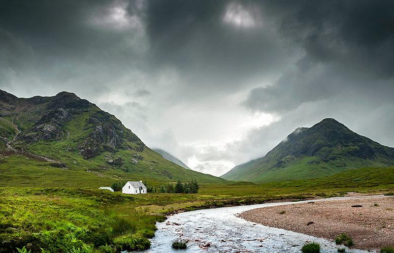 Valle de Glencoe (Escocia)1