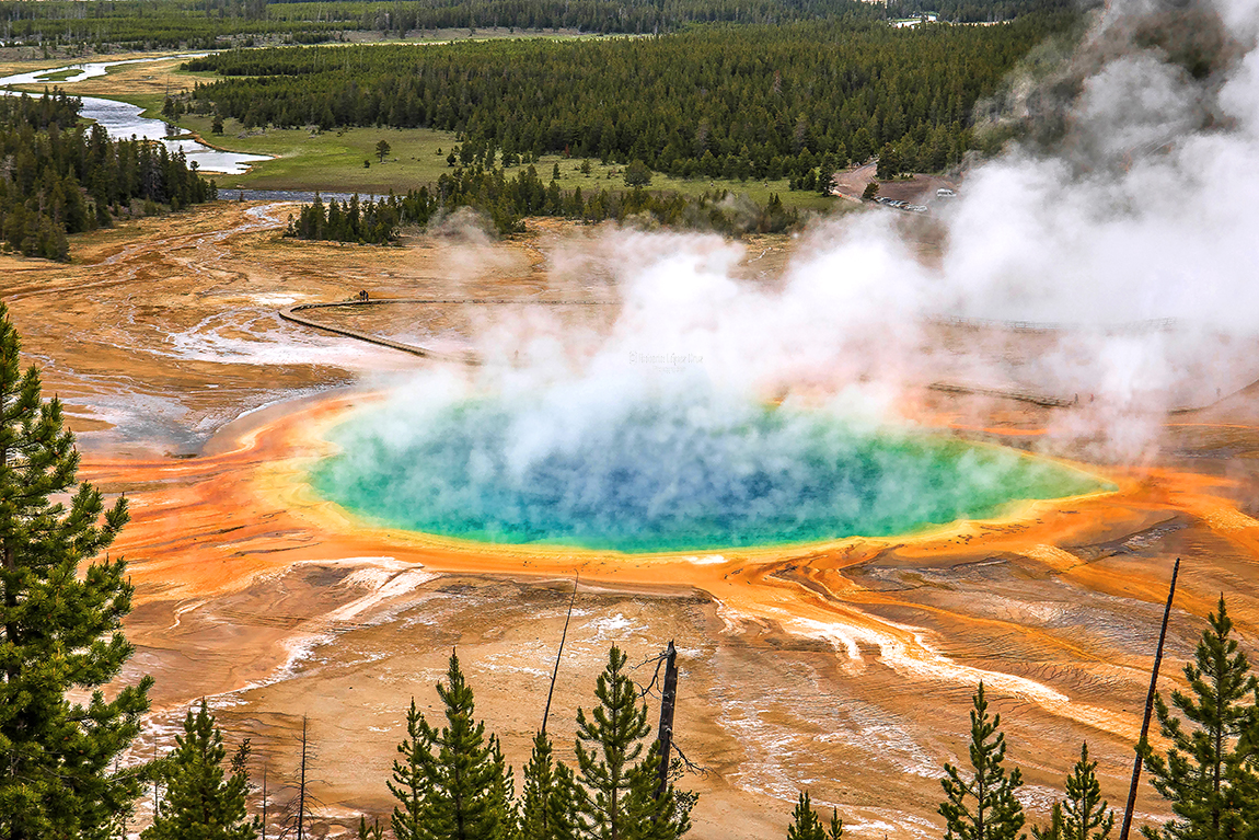 Grand Prismatic Spring(Yellowstone)