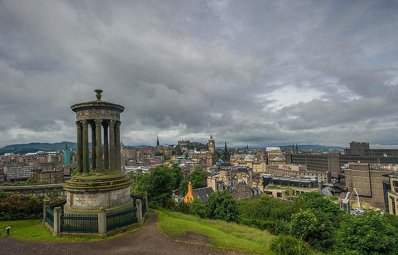 Edimburgo desde la colina