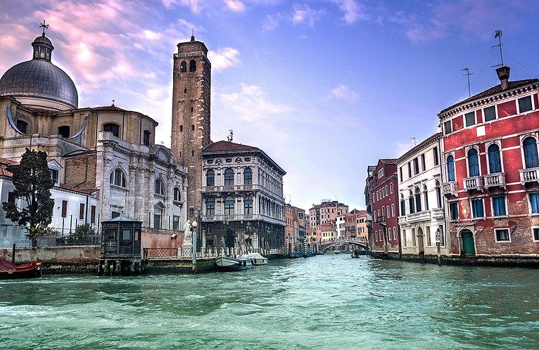 Gran canal.