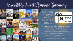 $200 Giveaway & 4 Book Prize Baskets!