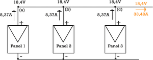 paneles solares, conexion, paralelo, sonnenworks