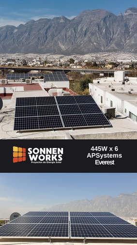 Sonnen Works paneles solares  Instalacio
