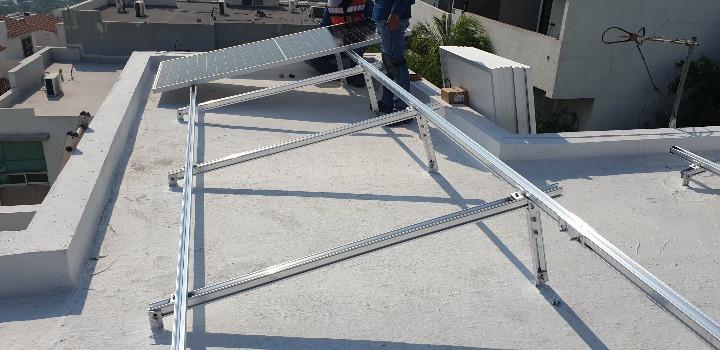 Estructura paneles solares