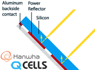 QCells power reflector