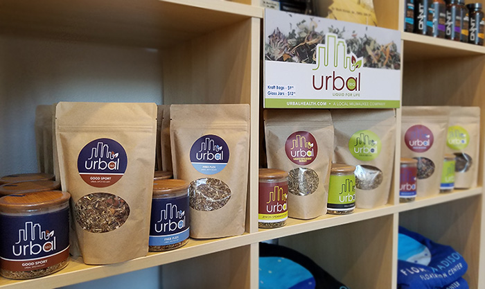 Urbal Tea on retail