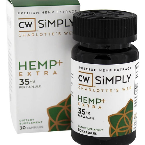 Simply Hemp + Extra Capsules - 35mg - 30ct