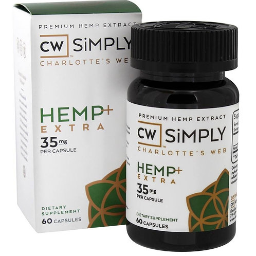 Simply Hemp + Extra Capsules - 35mg - 60ct