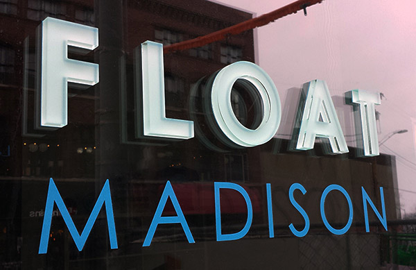 Float Madison Sign