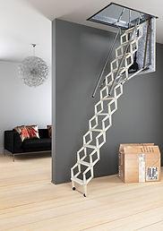 #автоматическая чердачная лестница Motor