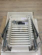 Автоматическая чердачная лестница с элетроприводом