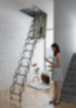 автоматическая чердачная лестница модель Софитта