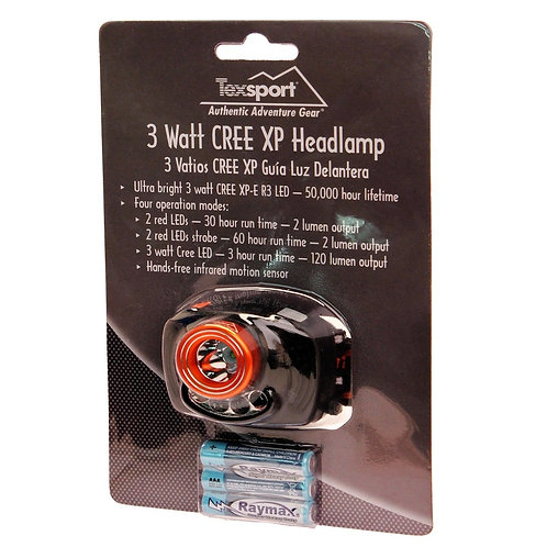 Texsport 3 Watt Head Lamp
