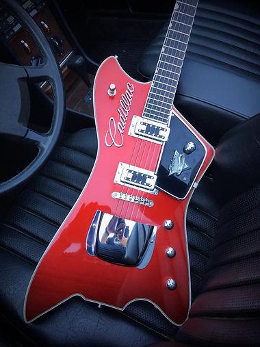 Oakwoods Billy-Bo Red Cadillac