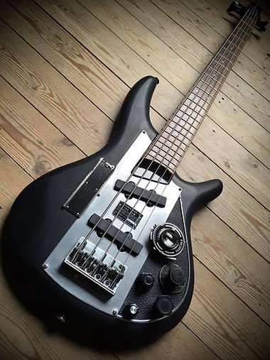 Ibanez SGR photobass, pimped by Oakwoods