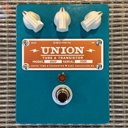 Union Tube & Transistor Snap Overdrive