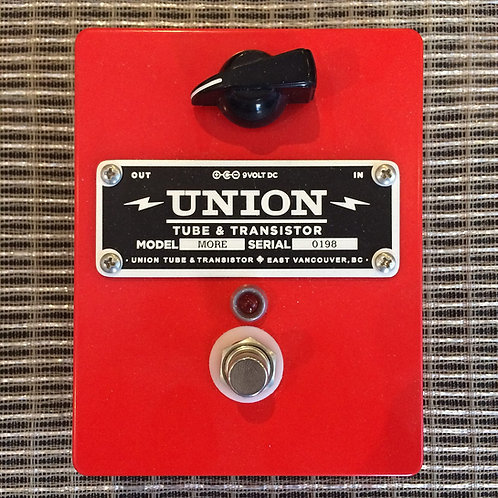 "Union Tube & Transistor MORE ""Beancounter""Overdrive"