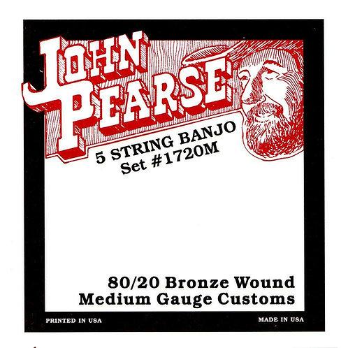 John Pearse 80/20 Bronze 5-String Banjo