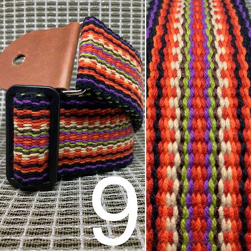 West Coast Weave hand-woven straps