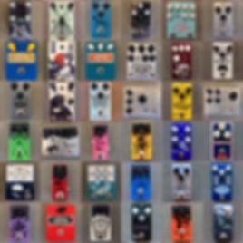 hamilton guitar store boutique vintage effect pedals handmade