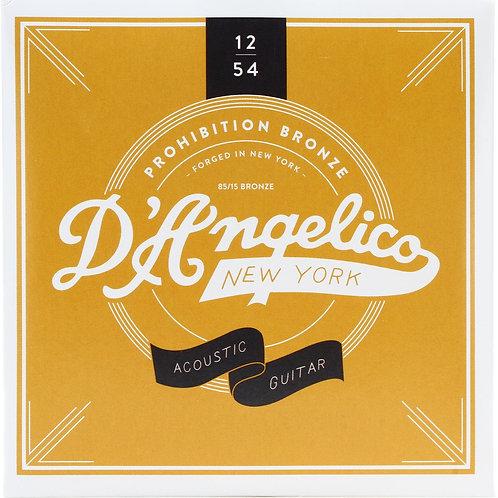 D'Angelico Prohibition Bronze vintage tone