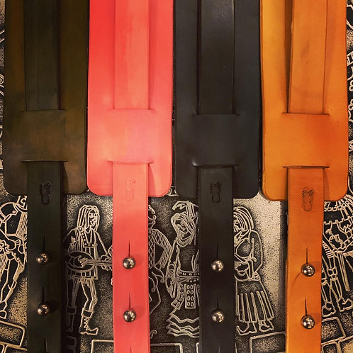 The Shoppery leather guitar strap
