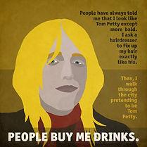 tom petty artwork