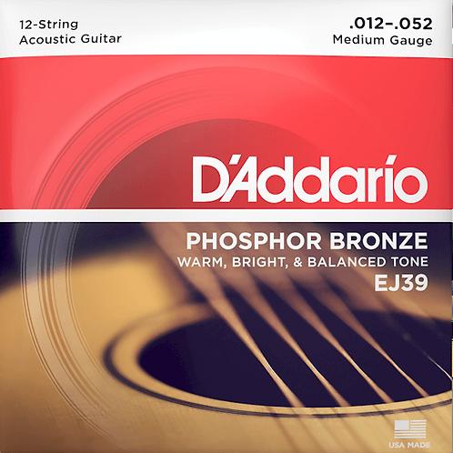 D'Addario Phosphor Bronze 12-string