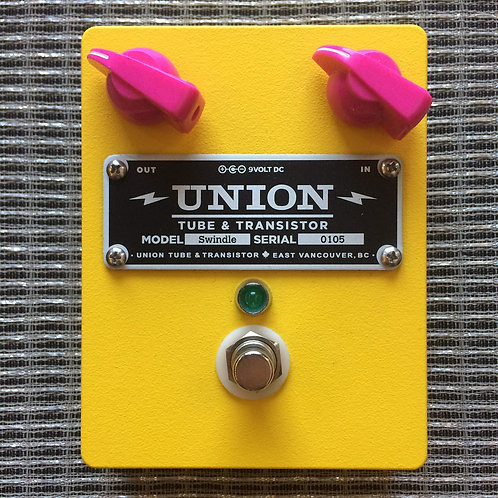 Union Tube & Transistor Swindle Distortion