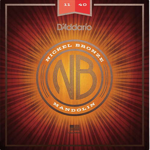 D'Addario Nickel Bronze Mandolin