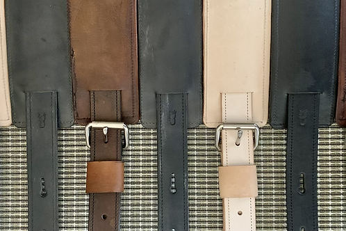 The Shoppery leather bass strap