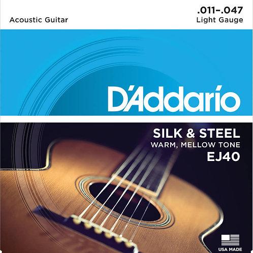 D'Addario Folk Silk & Steel