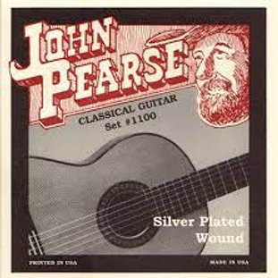 John Pearse Silver Plated Nylon Classical