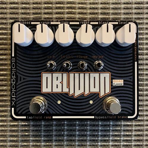 Solid Gold FX Oblivion Quad Flanger