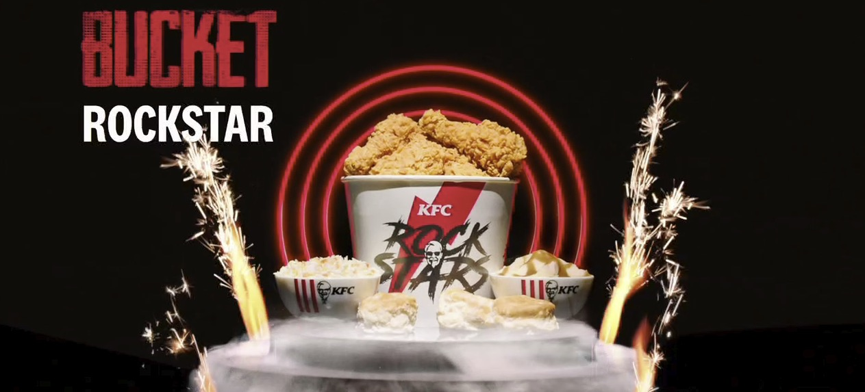 KFC - Bucket Rockstar