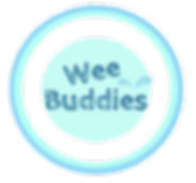 Wee Buddies Logo for potty training products.