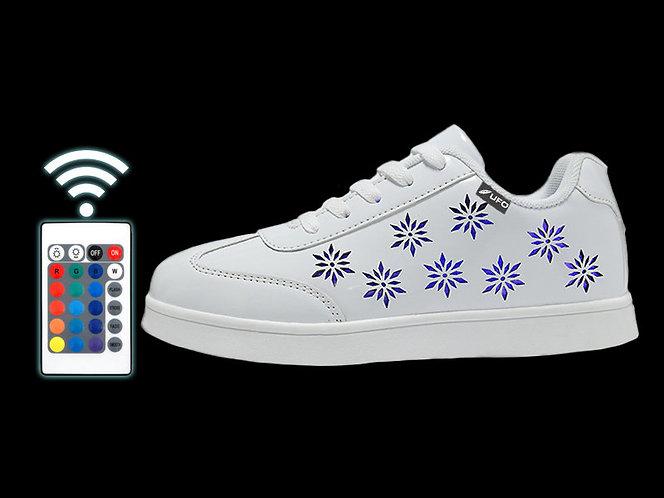 Светодиодная обувь UFO White-Flowers