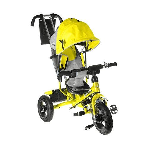 Велосипед GT7869 SAFARI TRIKE 3 колеса надувные/ желтый